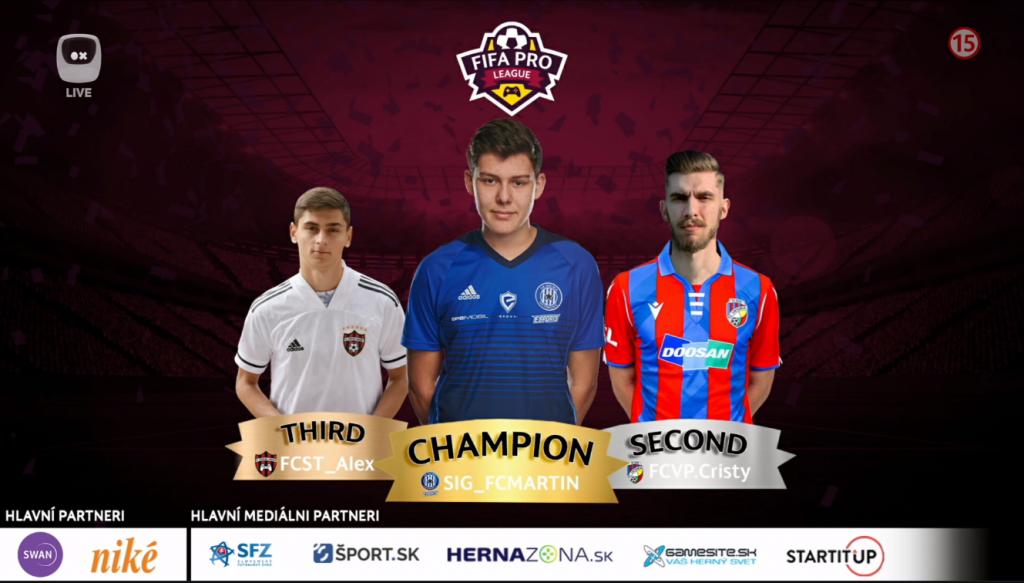 Veľkolepé finále FIFA PRO League prinieslo nečakané výsledky súbojov, majstrom druhej sezóny sa stal SIG_FCMARTIN